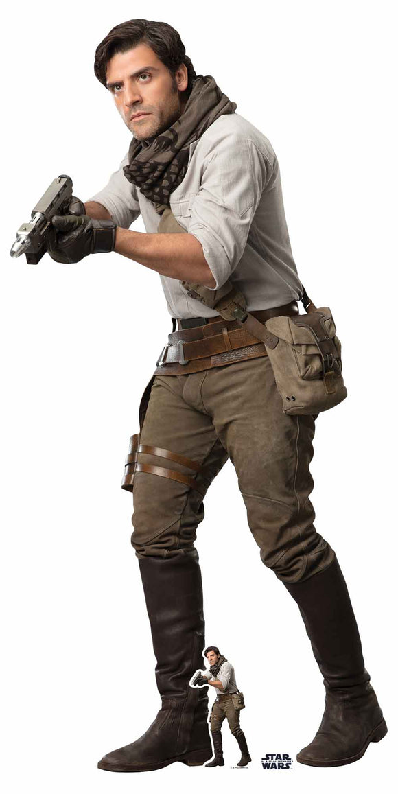 Star Wars Poe Lifesize Cutout The Rise of Skywalker