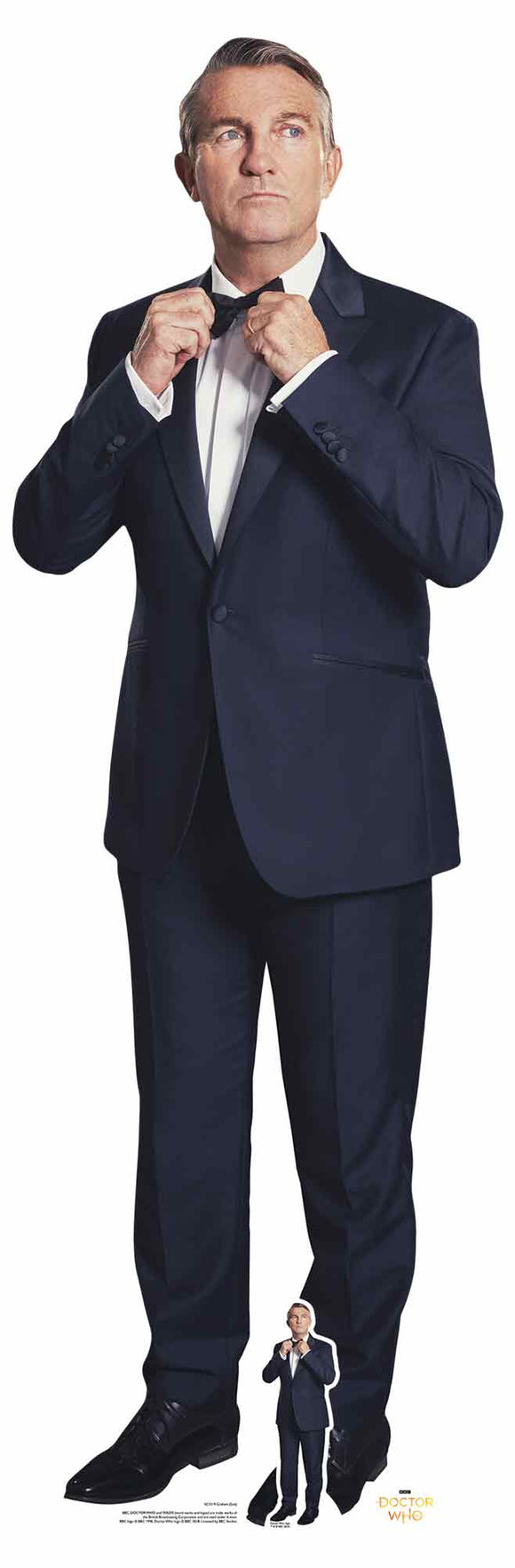 Bradley Walsh Graham Spyfall Suit Doctor Who Lifesize Cardboard Cutout