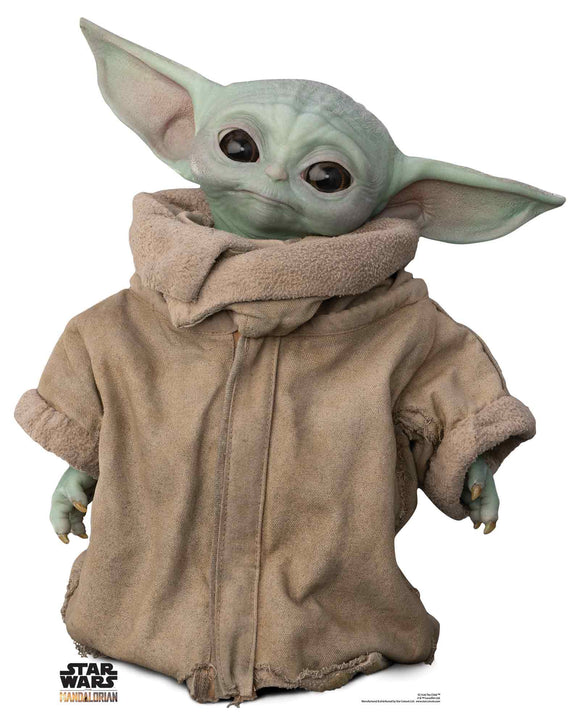 Star Wars The Mandelorian The Child Baby Yoda Grogu Cardboard Cutout