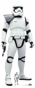 Star Wars First Order Stormtrooper Lifesize Cutout