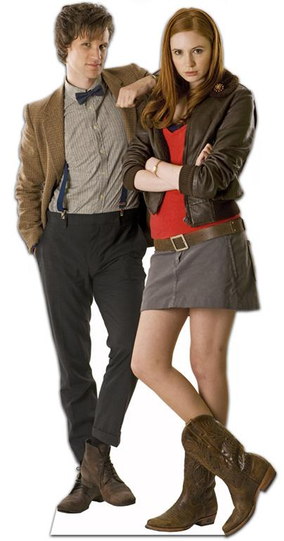 The Doctor and Amy Pond Lifesize Cutout
