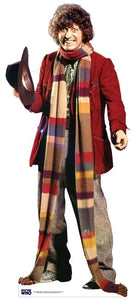 Tom Baker - Fourth Doctor - Lifeszie Cardboard Cutout