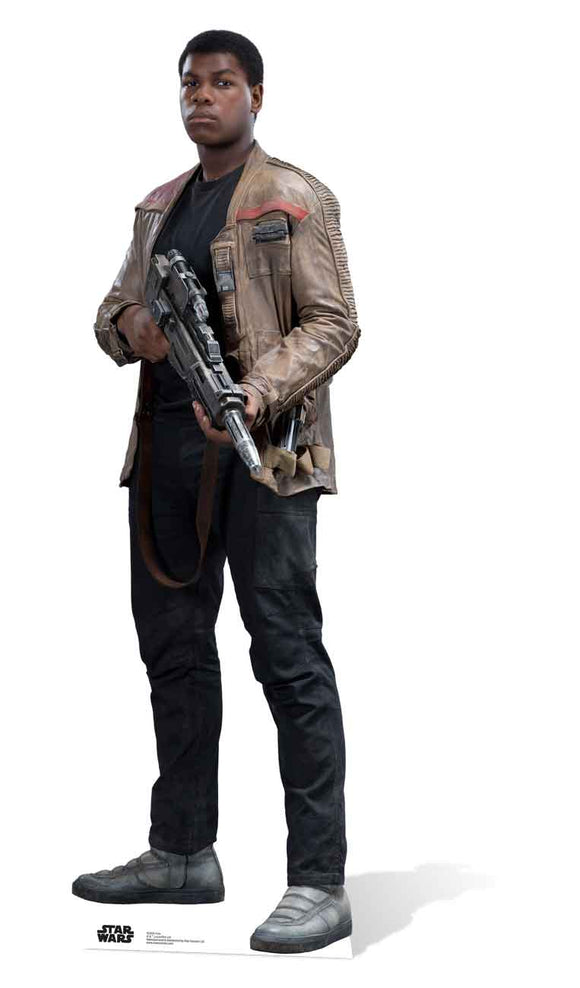 Finn Star Wars The Force Awakens John Boyega Lifesize Cutout