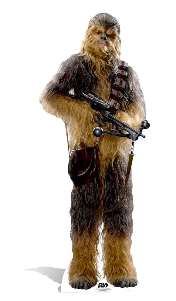 Chewbacca Star Wars The Force Awakens Lifesize Cutout