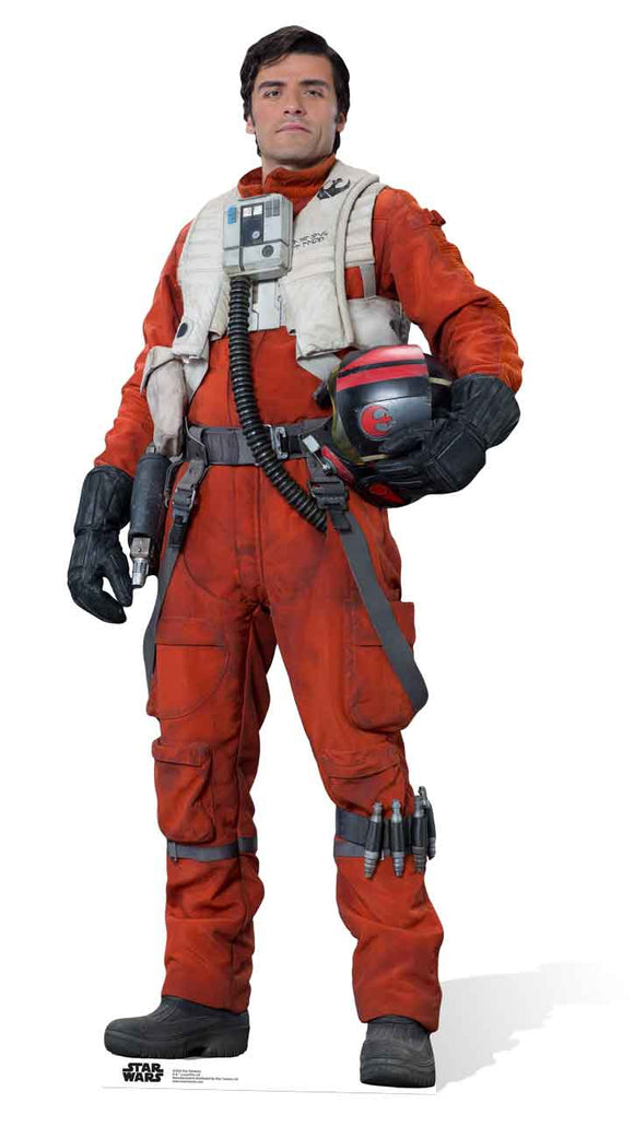 Star Wars Poe Dameron The Force Awakens Lifesize Cutout