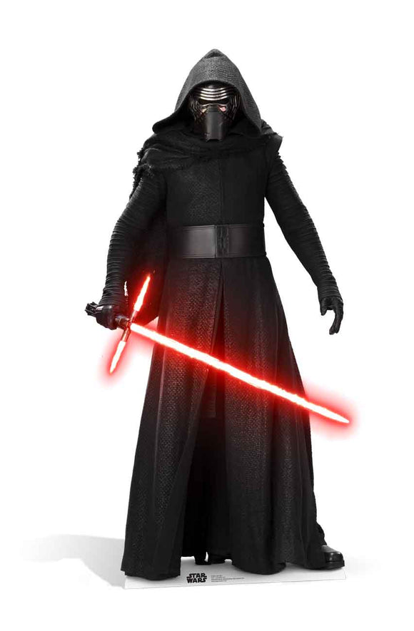 Kylo Ren The Force Awakens Star Wars Lifesize Cutout