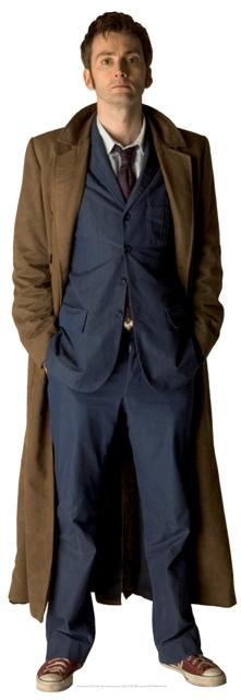 The Doctor David Tennant Lifesize Cardboard Cutout - Dr Who