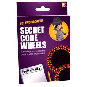 Spy Gear secret Code Wheels