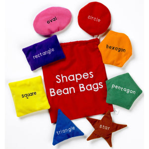 Shapes Bean Bags, Educational Sensory Learning Resources