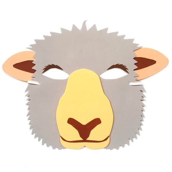 Sheep Children's Foam Fancy Dress Mask