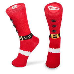 Santa Slipper Socks fesive Christmas Stocking Filler Gift UK size 5-11 adult