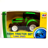 11cm Plastic Tractor Toy, sold in assorted colours