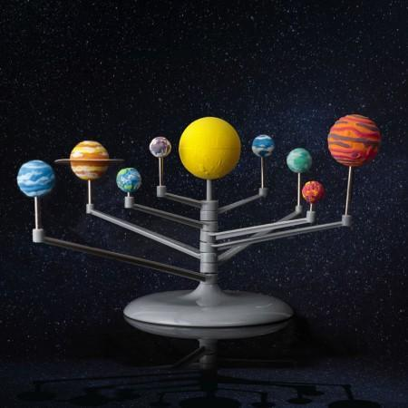 Make your own solar system planetarium science kit toy gift