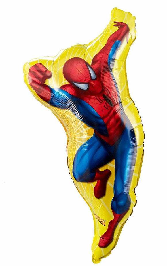 Spiderman Super Shape Party Balloon - No Helium Supplied - 97cm x 48cm