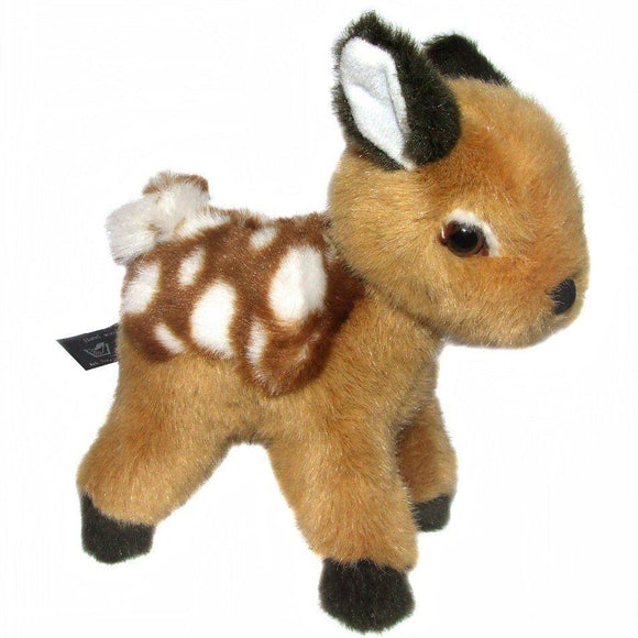 18cm Standing Deer Cuddly Plush Toy