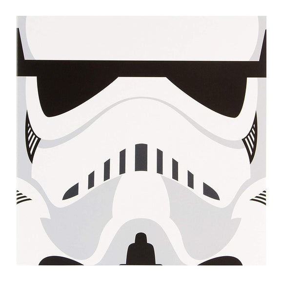 Star wars Stormtrooper Hallamrk Greetings Card Plain inside