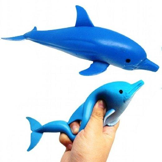 Squeezy Dolphin Pocket Money Sensory Toy party bag Filler Favor