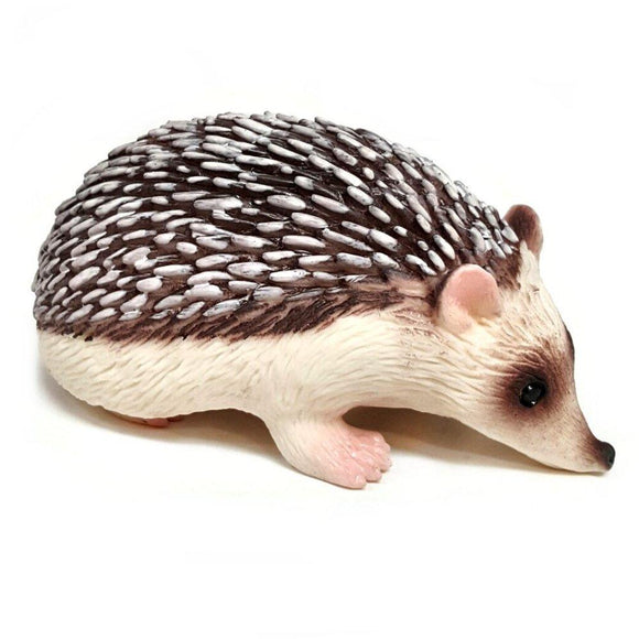 Squeezy Stretchy Hedgehog Sensory Toy Light Brown