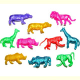 Sticky Stretchy Jungle Animal 30 or 84 Party Bag Filler Favor Fundraising Pocket Money Toys