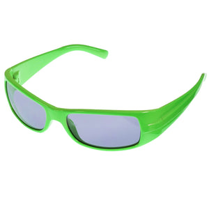 Children's Neon Sports Wrap Sunglasses UV400