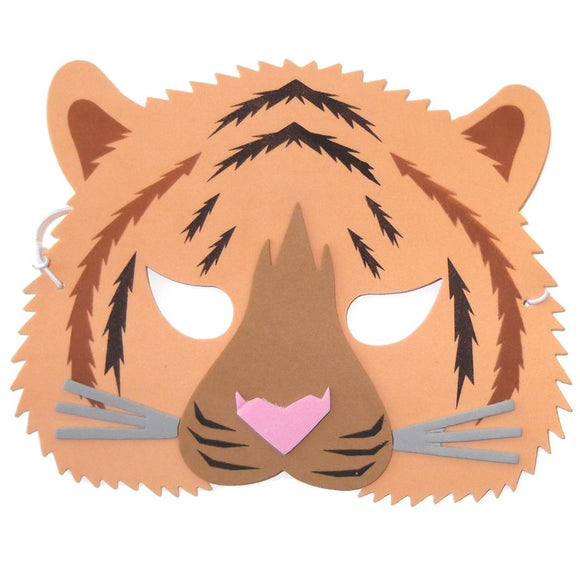 Tiger Foam Children's Fancy Dress Face Mask