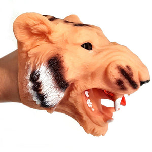Tiger Adult and Child Rubber Hand Puppet