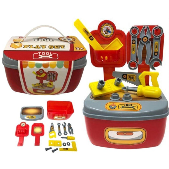 Pretend Play Toy Tool Box Playset