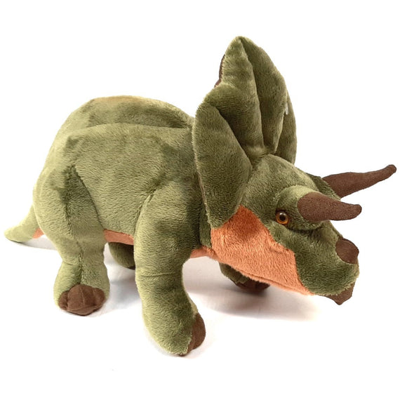 Triceratops Cuddly Soft Plush Stuffed Toy Dinosaur