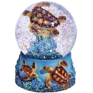 Turtle Snow Globe Gift Idea