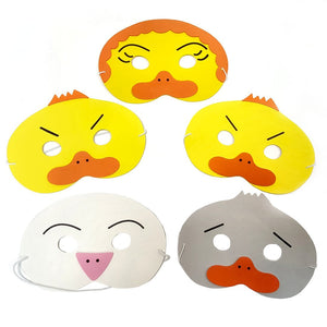Ugly Duckling Story Mask Set for Schools, Story Time and Fancy Dress