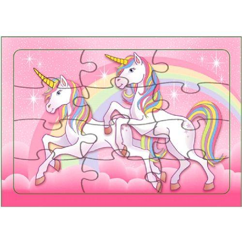 Small Unicorn Jigsaw Puzzle for Filling Party Bag