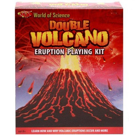 Double Eruption Volcano Science Kit front.