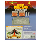 Double Eruption Volcano Science Kit back