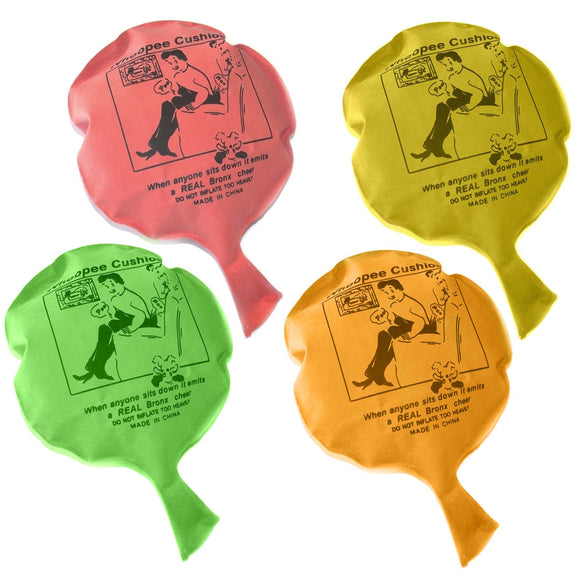 Pack of 30 Whoopee Cushion, Pocket Money Toys and Jokes
