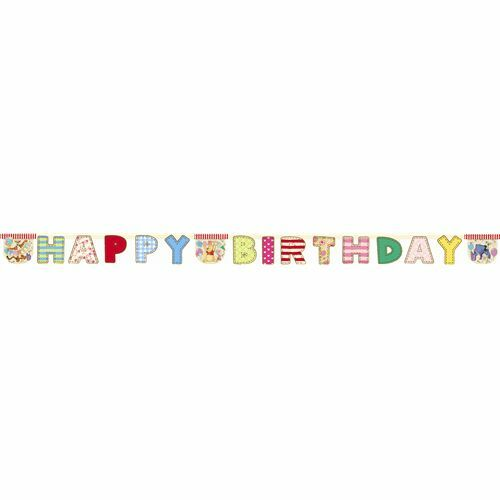 Winnie The Pooh Happy Birthday Party Banner
