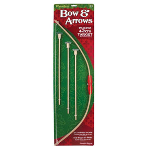 Wooden Bow and Arrow Toy