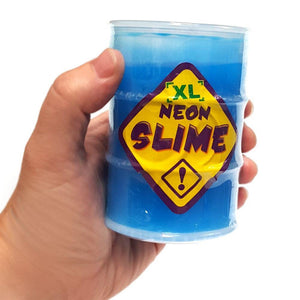 Pot of Blue  CE Approved Neon Slime Pocket Money Toy