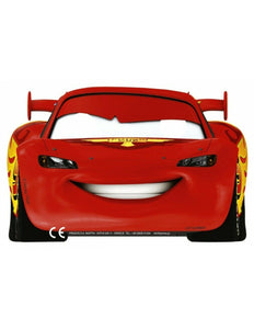 A Pack of 6 ready to wear Disney Pixar Cars RSN Card Masks