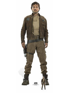 Star Wars Captain Cassian Andor (Rogue One) Diego Luna Lifesize Cutout
