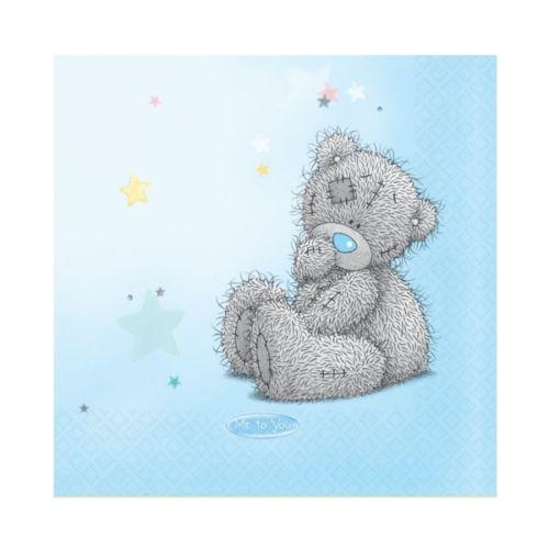 Pack of 16 Me To You Cute Teddy Bear Napkins