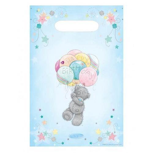 8 Pack of Me To You Cute Teddy Bear Party Favour loot treat Bags