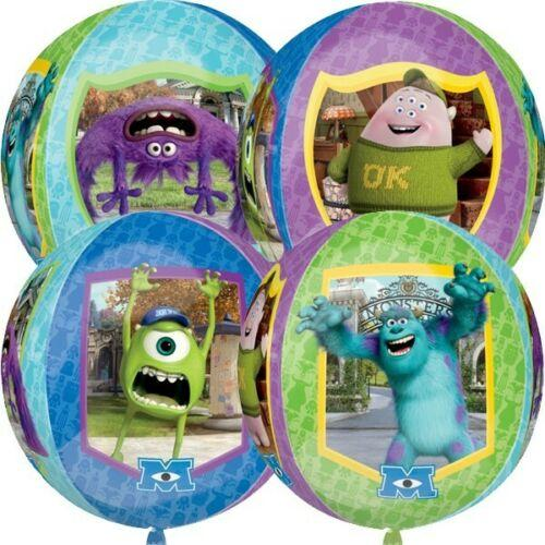 A Fun Monsters University Orbz Foil Balloon. Virtually forms a circle when fully inflated. 18