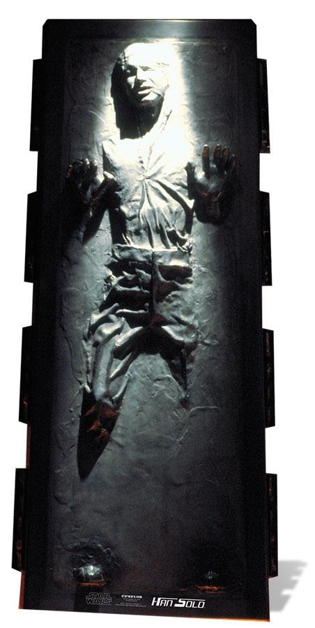 Han Solo - Carbonite Star Wars Lifesize Cutout