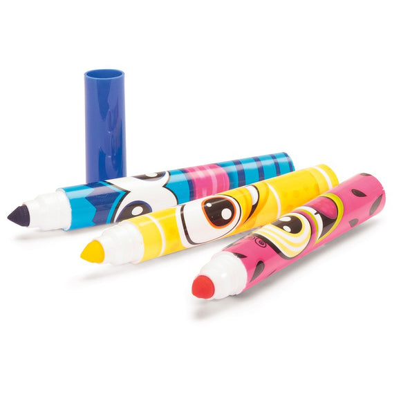 8 Scentos Scented Funny Face Markers