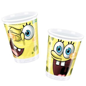 Pack of 10 SpongeBob Disposable Cups