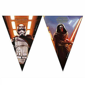 Star Wars Flag Banner Party Decoration