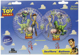 "Pack of 10 Disney Pixar Toy story 26"" Clear Helium Balloon - Buzz Lightyear Woody"