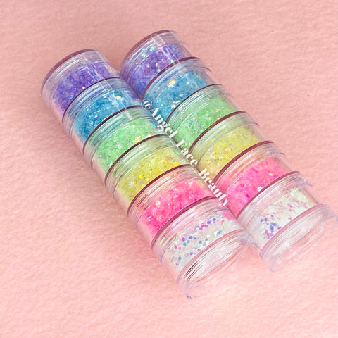Pastel Holo Stacks - Angel Face Beauty