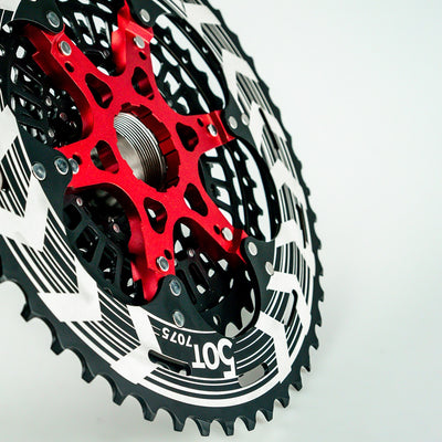 Bicycle Cassette Black 12s XD Cassette 12 Speed MTB Bike Freewheel 9-50T Compatible SRAM XD Freehub