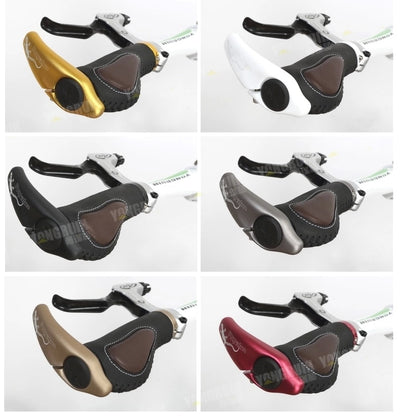 Bicycle Grips Comfortable Non-Slip Cycling Lockable Handle Grips Bike Accessories